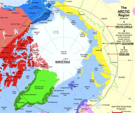 arctic circle map arctic circle map images