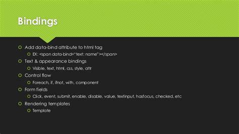 knockout template foreach knockout js