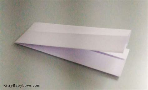 How To Make Paper Boomerang - origami tutorial how to make a paper boomerang