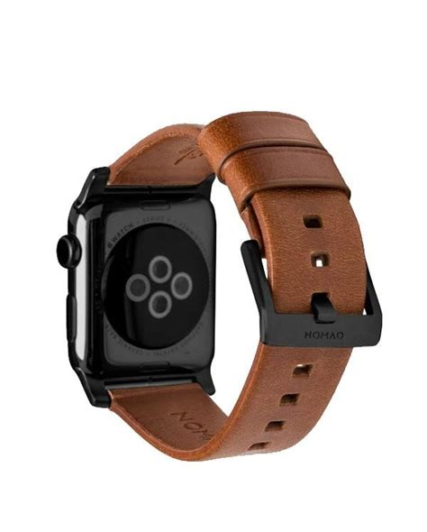 Original Nomad Tali Apple 1 2 3 Brown Leather Modern 42mm buy nomad horween leather for apple 42mm black buckle moby singapore