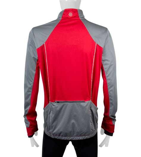 reflective bike jacket s illuminite s portland reflective cycling jacket