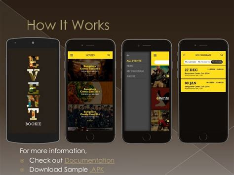 design event app the most attractive event android mobile apps template
