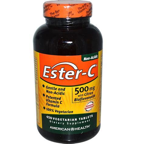 ester c american health ester c with citrus bioflavonoids 500