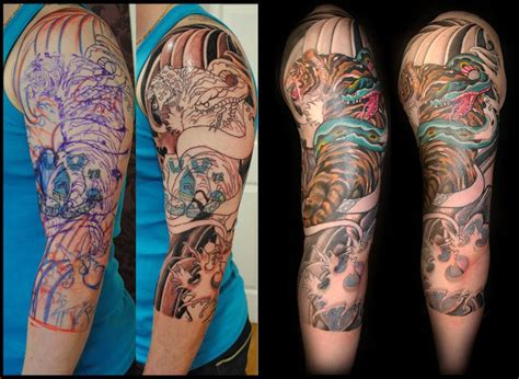 big cover up tattoos 28 big cover up oy hardest cover up of a