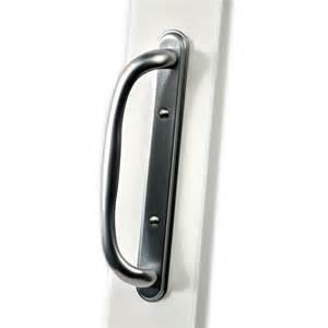 patio door handles shop securaseal 4 in satin nickel surface mount sliding