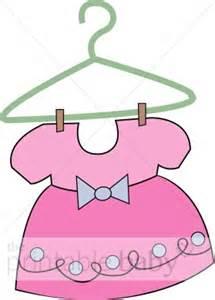 Baby Dress Cartoon Dress Pink Dots » Ideas Home Design