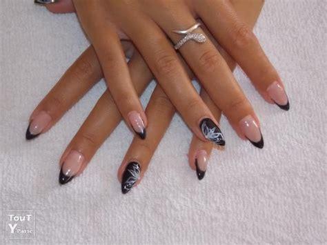 ongles en pointe modele ongle en gel modele en pointe