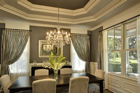 Dining Room Ceiling Decor 20 Amazing Dining Room Design Ideas With Tray Ceiling