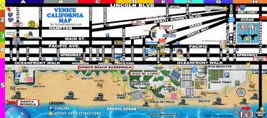map of venice california venice checklist things to do and see in the venice