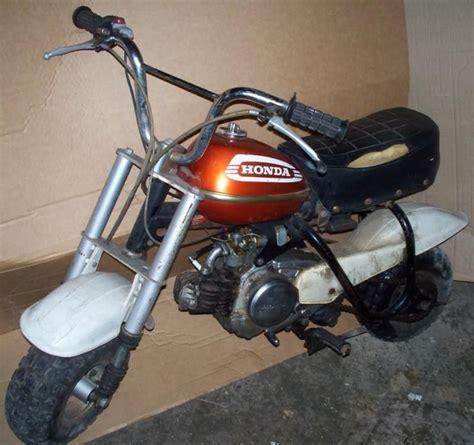 Honda Mini Motorcycle by Honda Qa 50 Mini Bike Motorcycle Qa50k2 Orange For Sale On