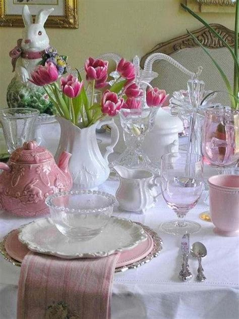 table setting easter ideas