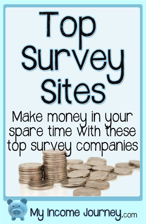 Money Survey Sites - top survey sites to make money my income journey
