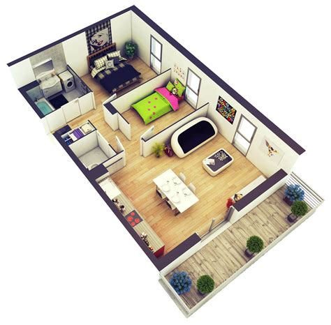 Floor Plans For Small Houses With 2 Bedrooms 2 bedroom house plans designs 3d artdreamshome