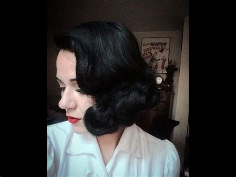 wet set on white hair vintage waves from the golden age quot 1930s short hair wet