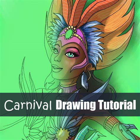 tutorial picsart drawing step by step tutorial on how to draw a carnival dancer