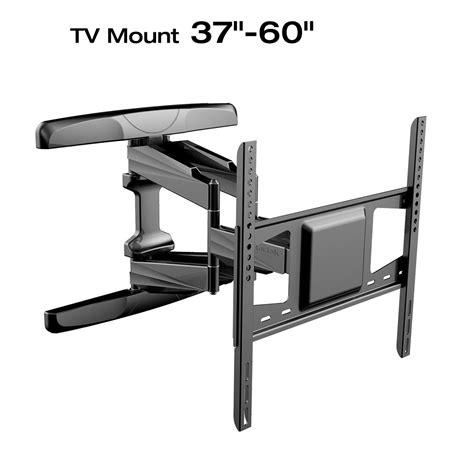 Bracket Adjustble For 14 42 Inch Tv Black wall bracket adjustable fullmotion wall mount bracket for inch flat screen tvs u0026 wall