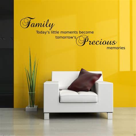 precious moments wall stickers family precious moments wall sticker lounge quote decal mural transfer ebay