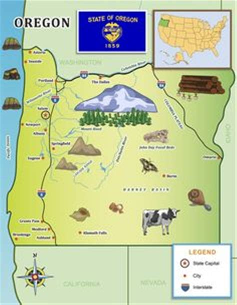oregon connecticut and united states map on pinterest 1000 images about oregon for kids on pinterest oregon
