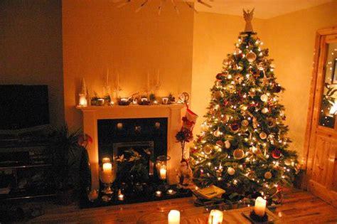 pictures of christmas decorations in homes decoraci 243 n de salas para fiestas navide 241 as