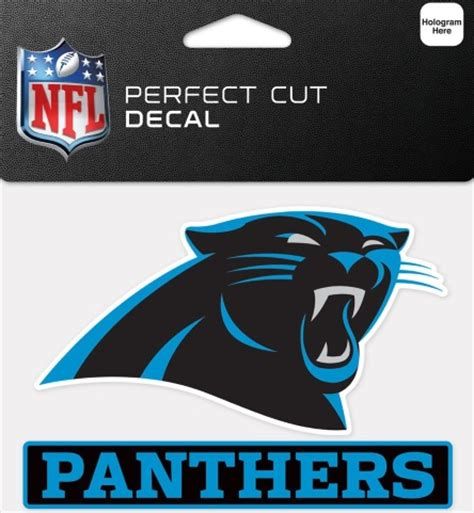 what colors are the carolina panthers carolina panthers team color panther logo cut decal 5 quot