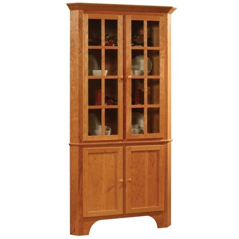 Corner Cabinet Hutch by Home On Corner China Cabinets Corner Cabinets