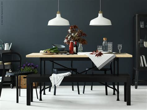 Dining Room Table With Bench Seating 12 editors picks from the 2017 ikea catalog the everygirl