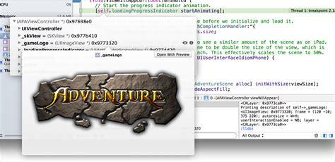xcode quick look tutorial xcodeの概要 デバッガを使う