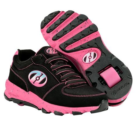 roller shoes heely s juke roller shoe blk pink blue heelys shoes