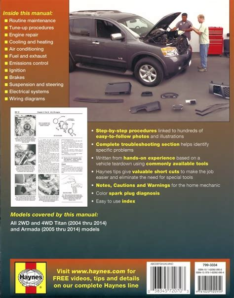 manual repair free 2004 nissan titan auto manual nissan titan armada 2wd 4wd repair manual 2004 2014 chilton