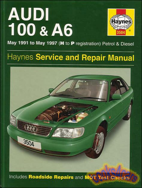 car repair manuals download 1994 audi v8 instrument cluster audi a6 shop service manuals at books4cars com