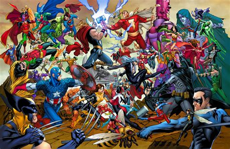 marvel vs dc wallpaper by artifypics on deviantart marvel vs dc poster by teogonzalezcolors on deviantart