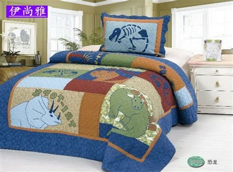 dinosaur bed set colorful mart dinosaur world blue dinosaur bedding set