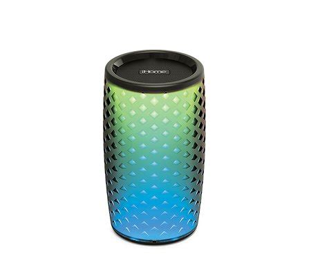 ihome color changing speaker ihome ibt75 color changing bluetooth rechargeable speaker