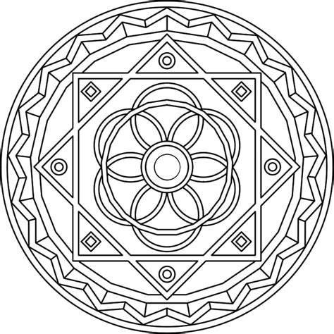 mandala coloring pages advanced level az coloring pages