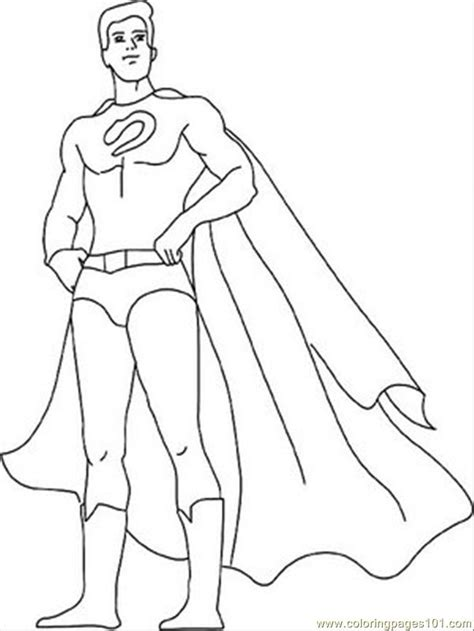 superhero outline coloring page superhero coloring pages for kids az coloring pages