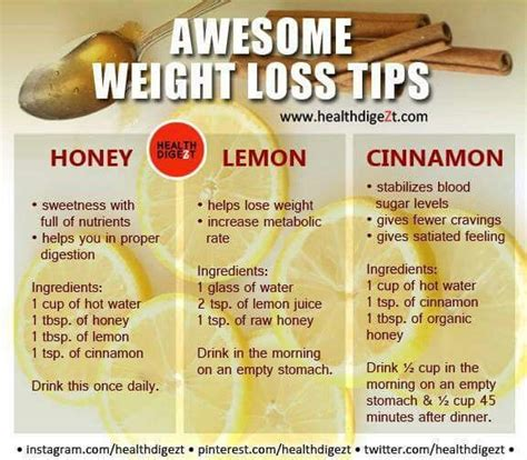 Useful Tips On Dieting by Health Benefits Of Honey Lemon And Cinnamon Recipes