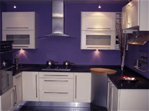 purple black and white kitchen for the home pinterest