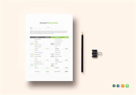 Balance Sheet Templates 18 Free Word Excel Pdf Documents Download Free Premium Templates Editable Balance Sheet Template