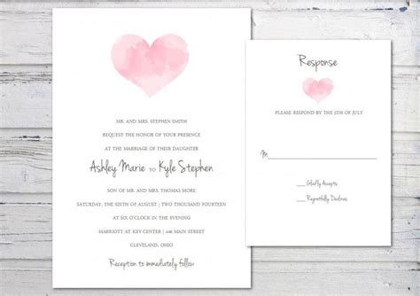 digital wedding invitation printable invitation template