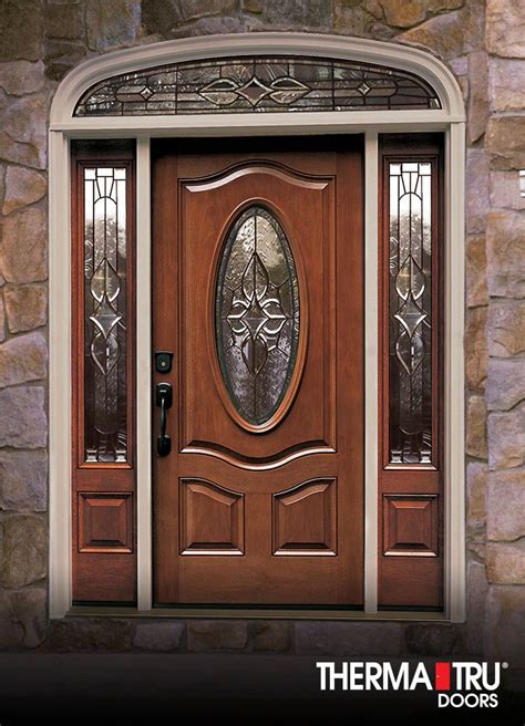fiberglass entry door with glass 18 best classic craft mahogany collection images on
