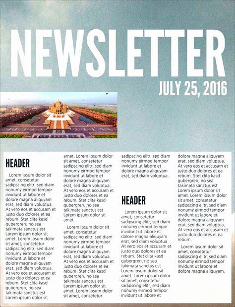 newspaper newsletter template 7 business newspaper template sletemplatess