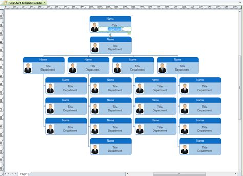 beautiful org chart templates editable and free org