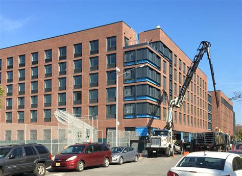 Affordable Apartments Greenpoint Construction Wraps On Six Story 102 Unit Mixed Use