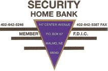 welcome to security home bank