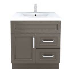 Lowes Vanity Canada Cutler Kitchen Bath Sundown Contemporary Bathroom