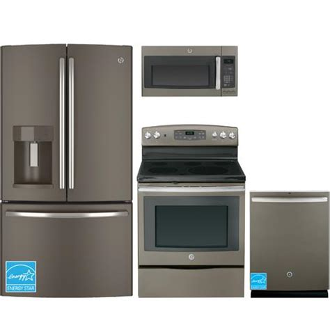ge kitchen appliance packages ge slate complete kitchen package