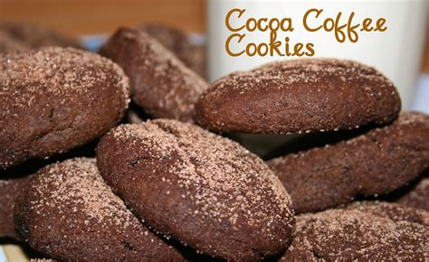 Cocoa Coffee cocoa coffee cookies a southern fairytale