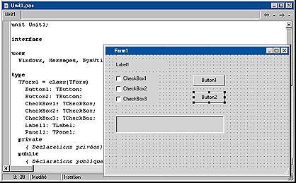 tutorial de delphi vous pouvez aussi ajouter directement du code 224 vos