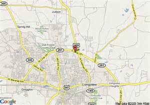 map longview map of fairfield inn longview longview