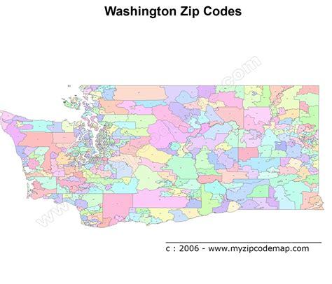us area codes washington state washington zip code map afputra